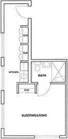Studio Corner Unit Plan